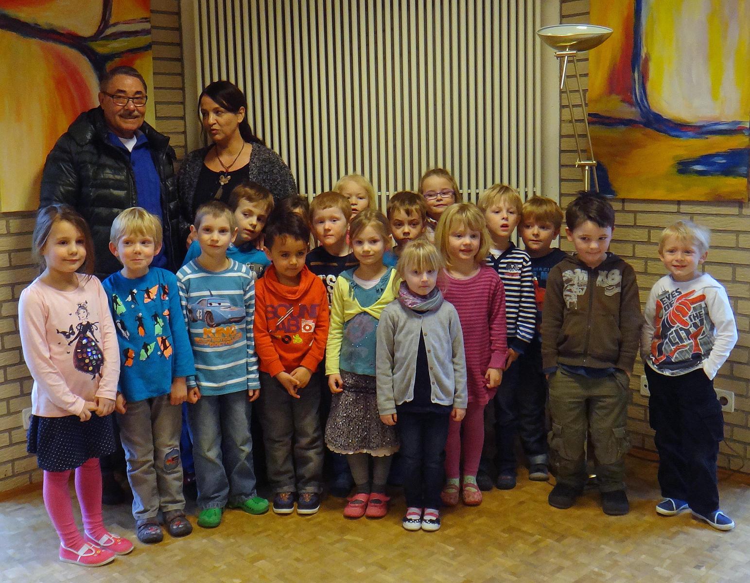 """Bürgerstiftung fördert erneut Kurs """"Starke Kids"""" am Kindergarten St. Johannes in Rulle"""